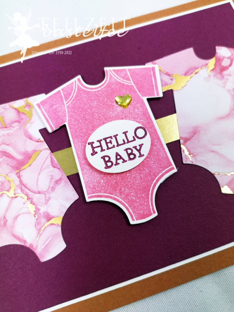 Stampin' Up! - Inkspire_me, Sketch Challenge, Color Challenge, Moon Baby, Something for Baby, Expressions in ink, Tintenkunst DP